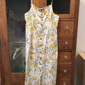 ASOS maternity floral midi dress